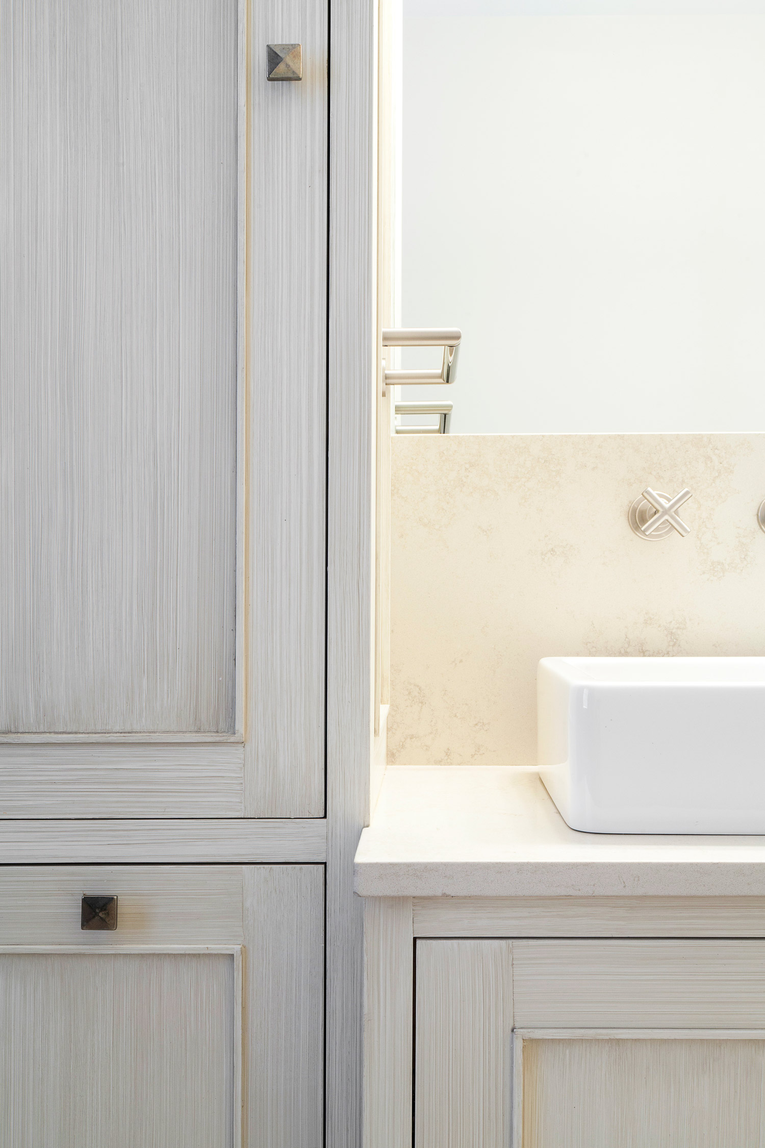 Cottage in the Woods | Bathroom Counter | Design Associates Inc.
