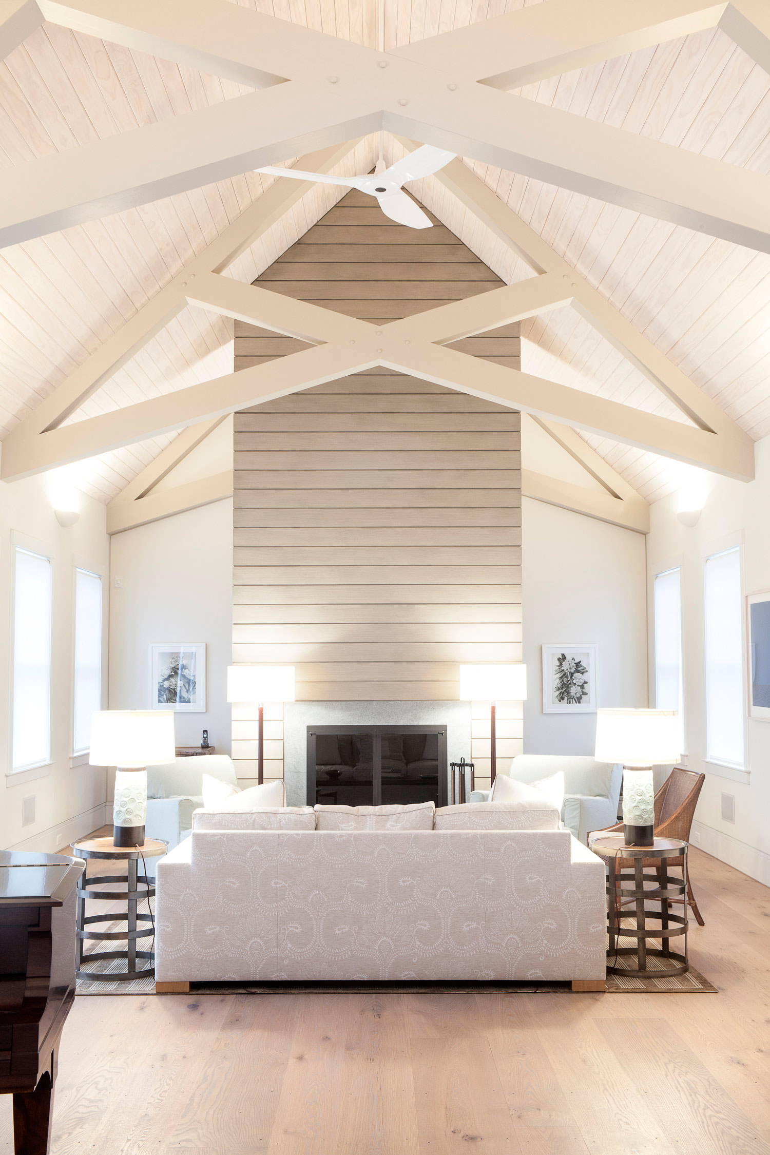 Cottage in the Woods | Living Room | Design Associates Inc.