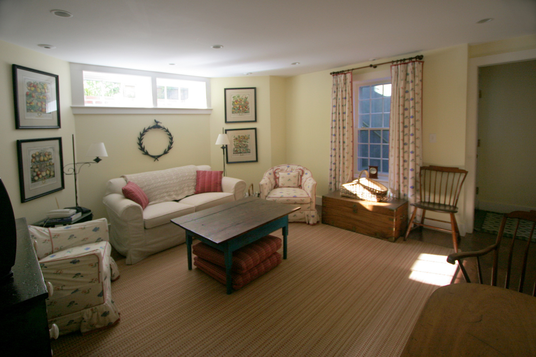 The George Lawrence House  Basement   Design Associates