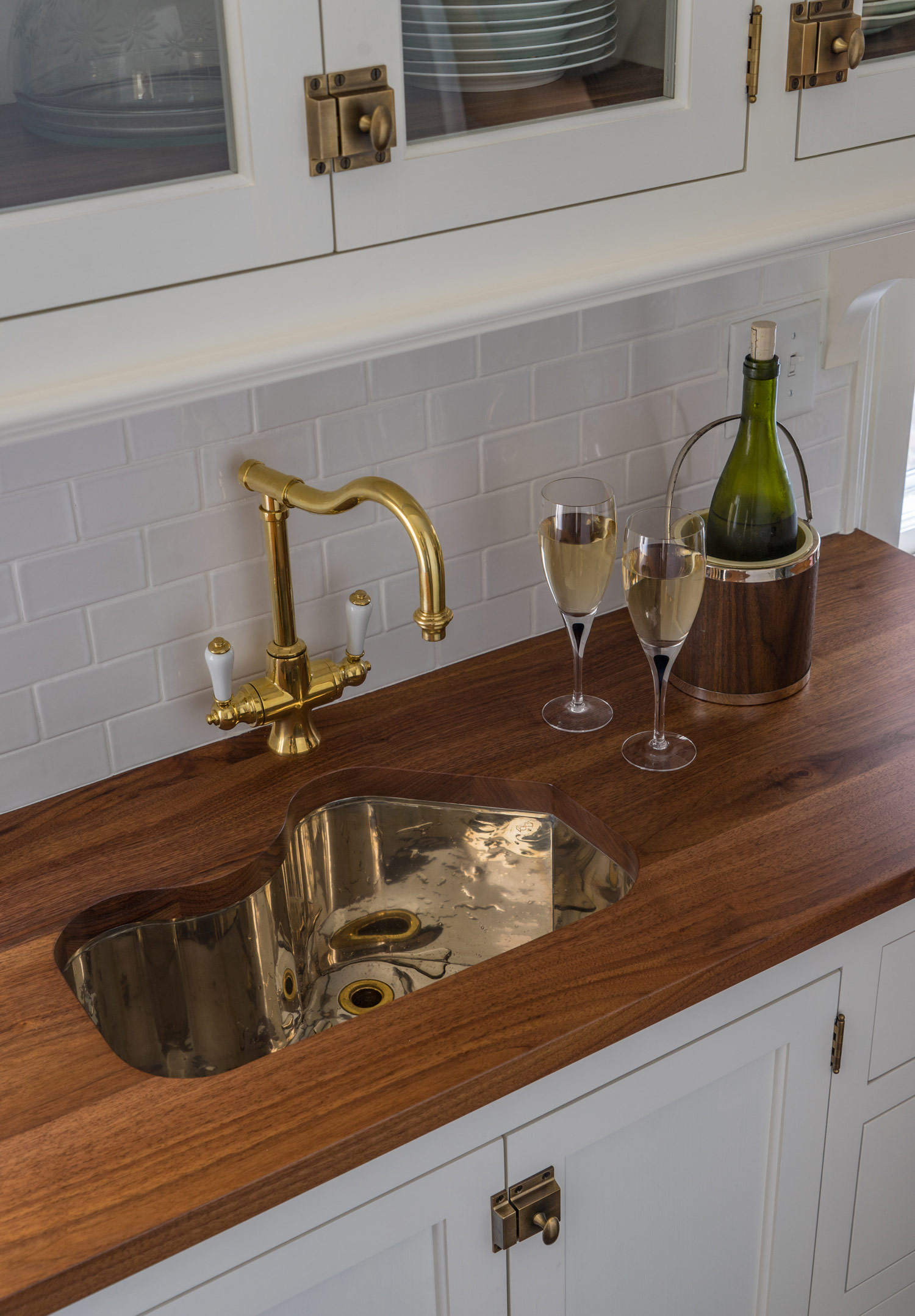 The Babson Residence | Wood Counter | Design Associates Inc.