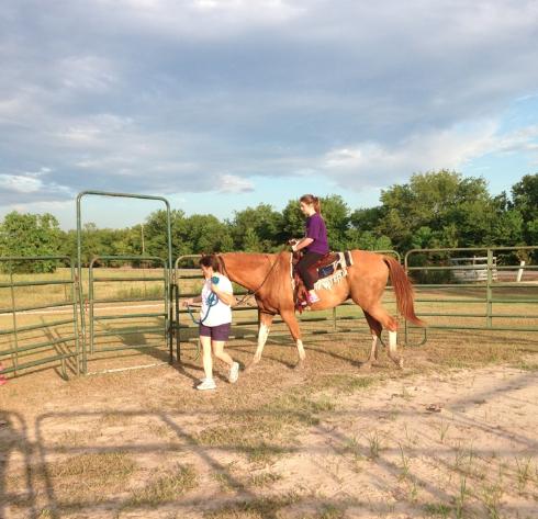 Horseback Riding - August 10, 2014