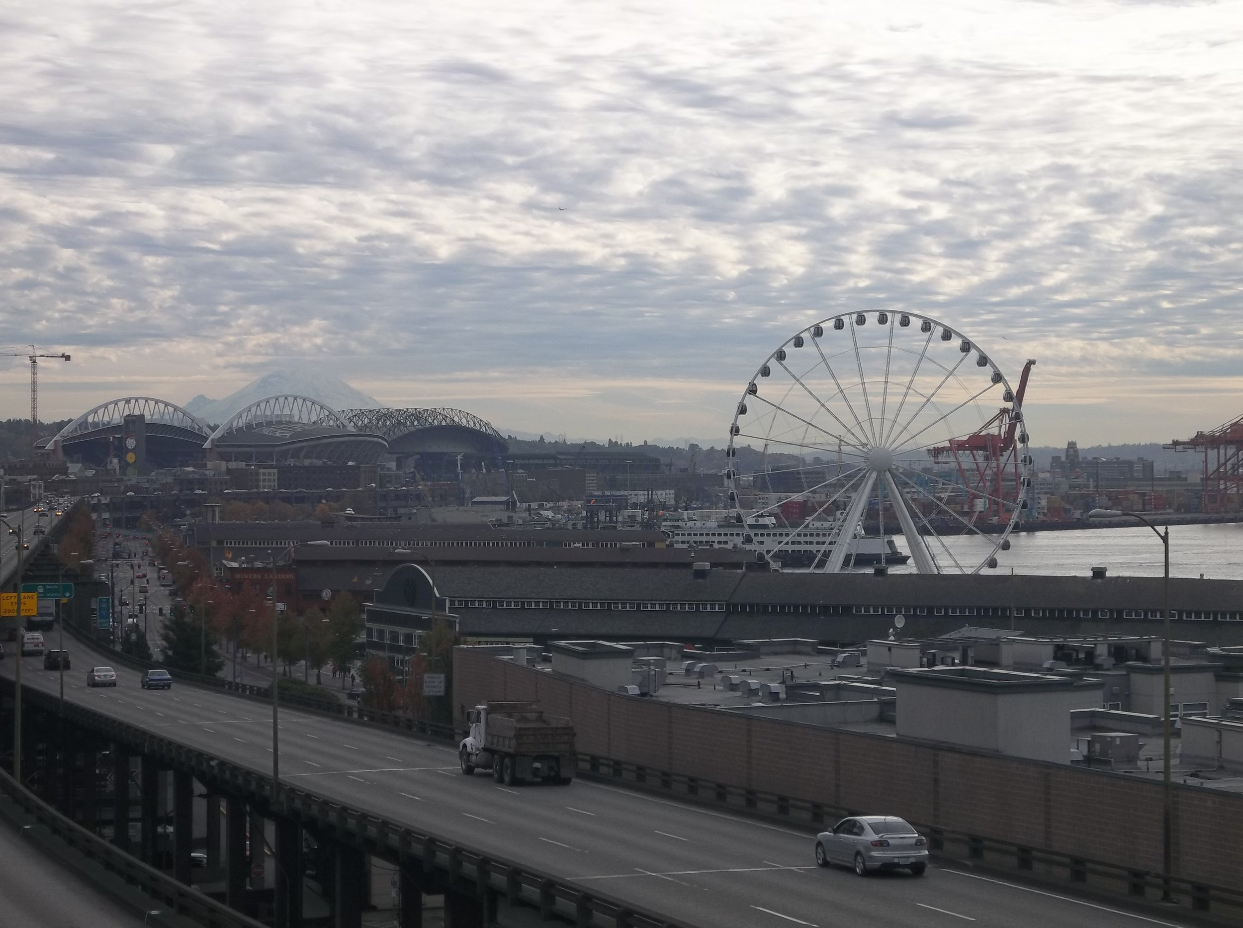 Visit Seattle, Washington - October 17, 2012