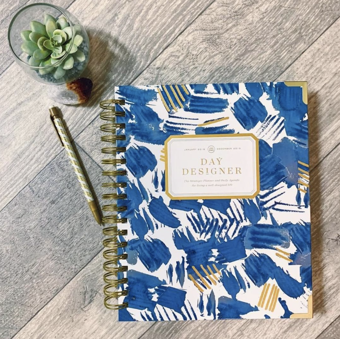 The Day Designer - This planner is for anyone interested in intentional living. The planner provides space to dream up goals, and it helps to facilitate accomplishing those goals.