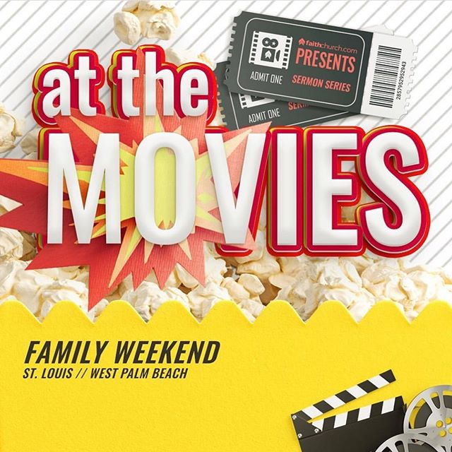 Happy Sunday and Week 1 of At the Movies! We've got something sweet planned for every member of your family. See you there!