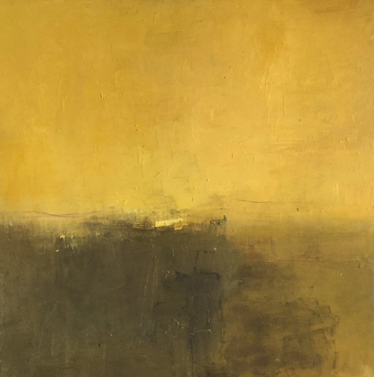 Paysage jaune