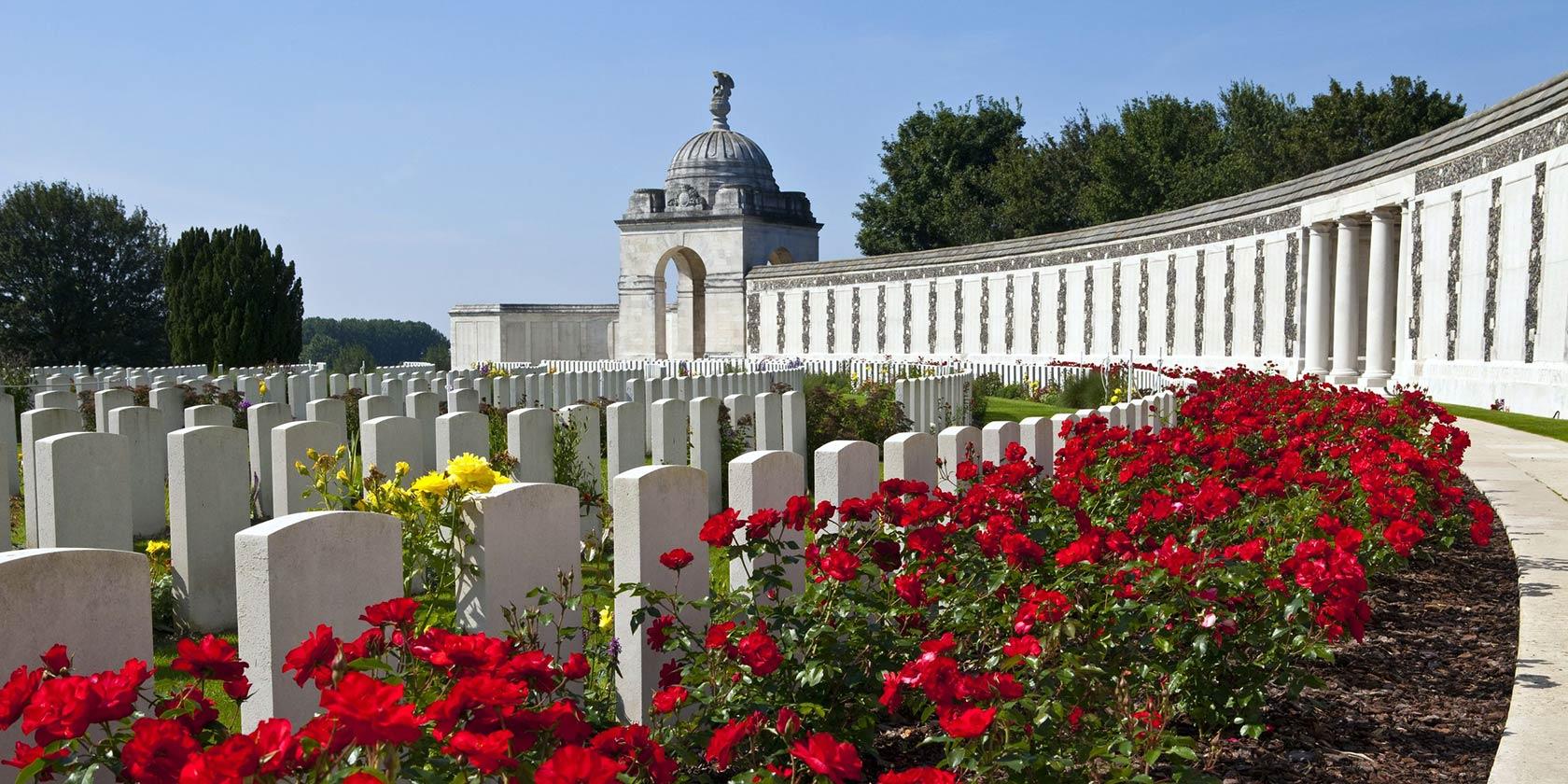 Tyne Cot Imperial War graves in flanders