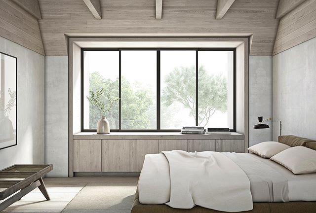 Bedroom | Adam Jordan Architecture