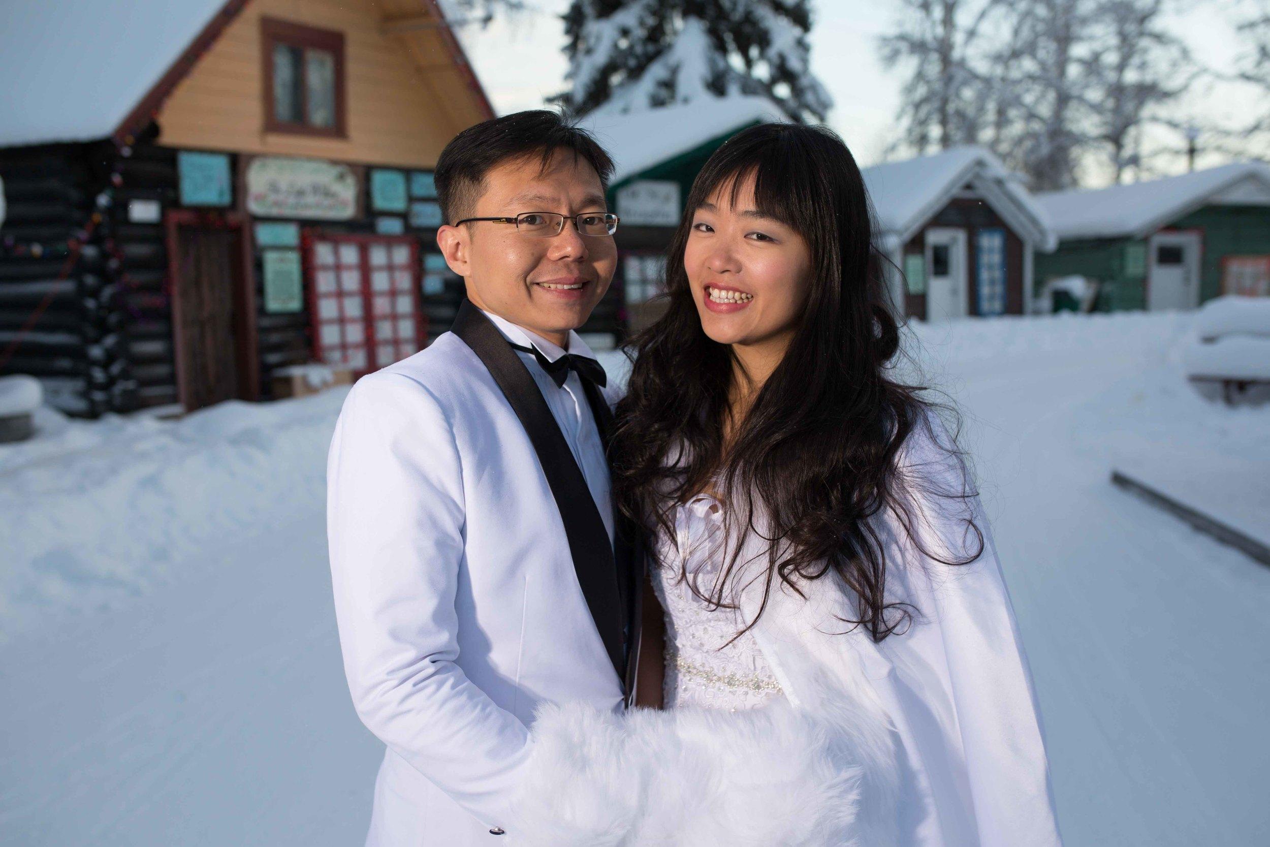 Bride and Groom under Northern Lights Fairbanks Alaska 07.jpg