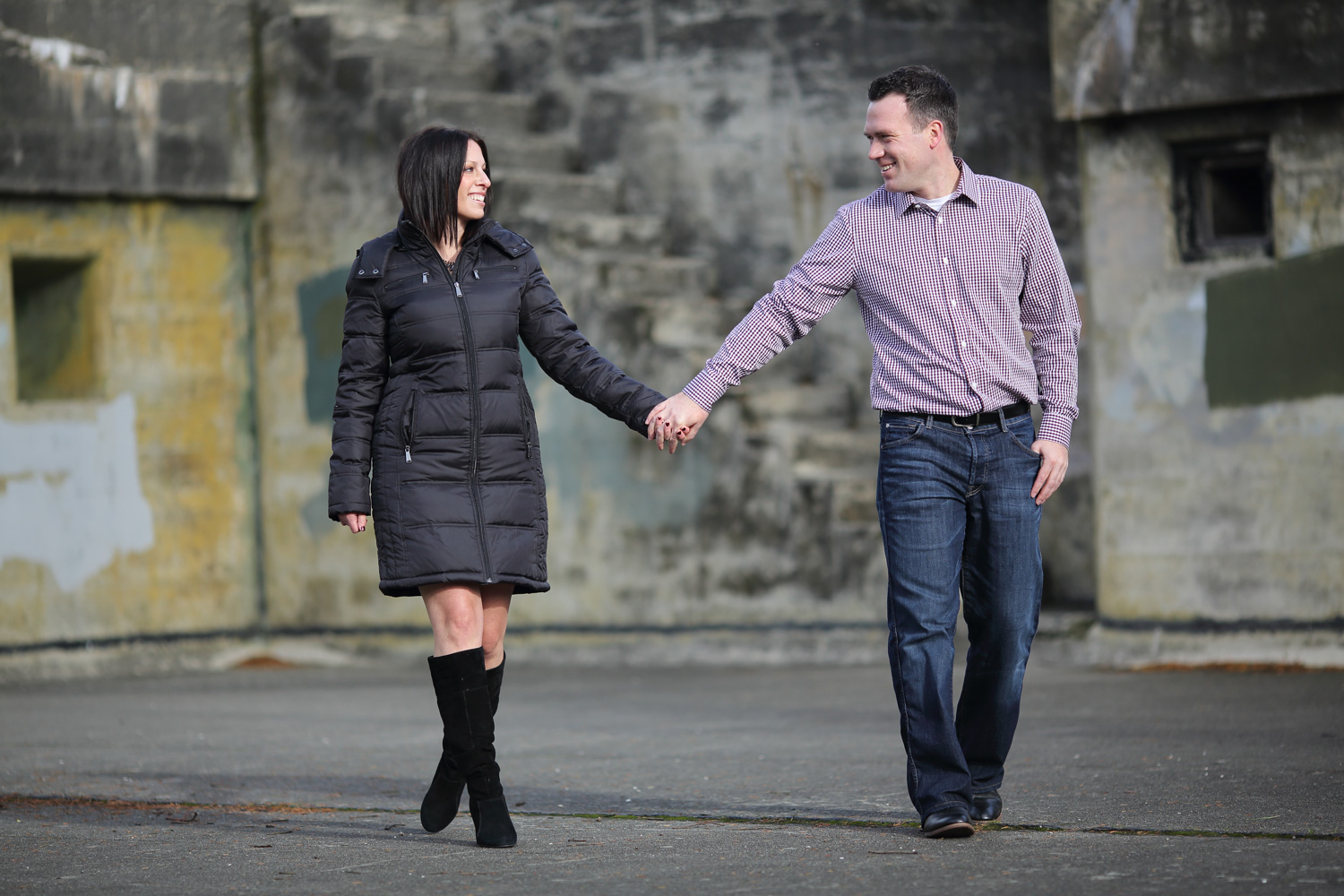 Engagement Photos Fort Worden State Park