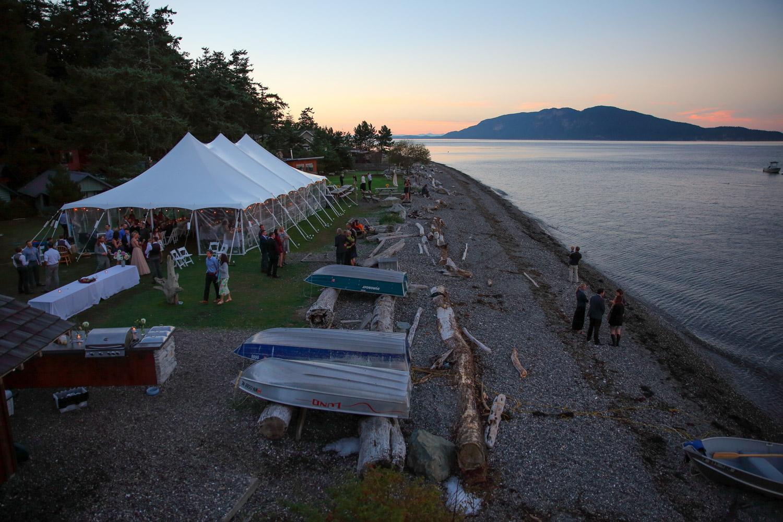 Guemes Island Resort Wedding