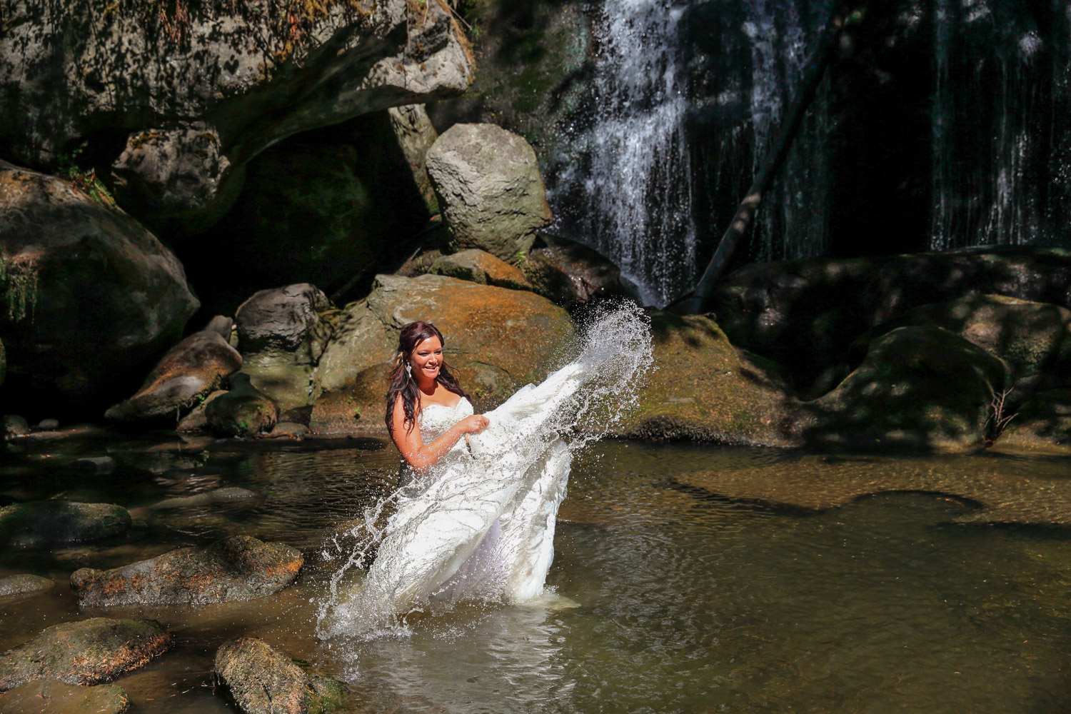 Trash the Dress Photos Whatcom Falls Bellingham Washington03.jpg