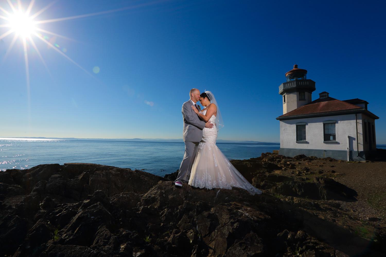 Wedding Roche Harbor Hotel