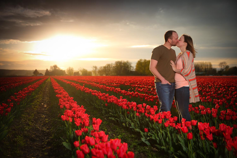Engagement Photos Tulip Fields LaConner Washington10.jpg