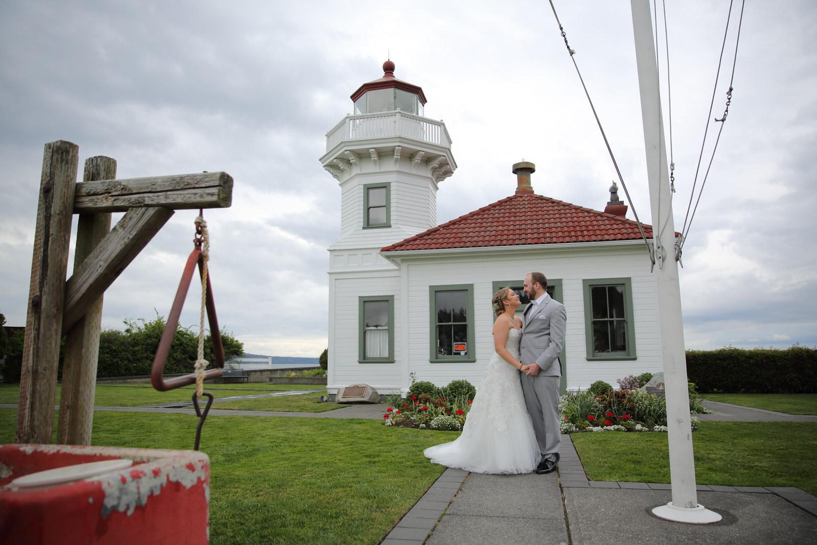 Wedding Photos Mukilteo Lighthouse Park