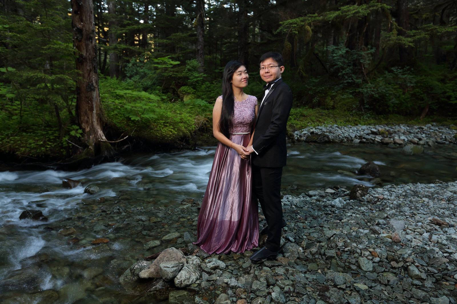 Engagement Photos Juneau Alaska