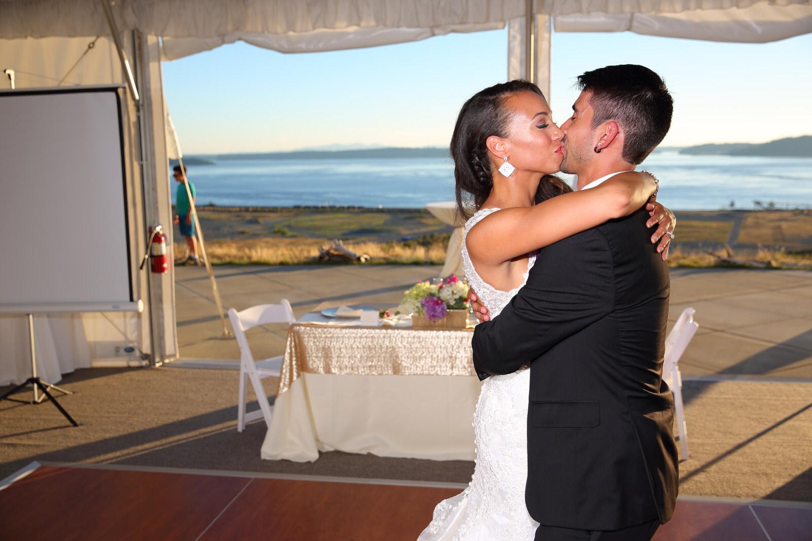 Wedding Chambers Bay Golf Course