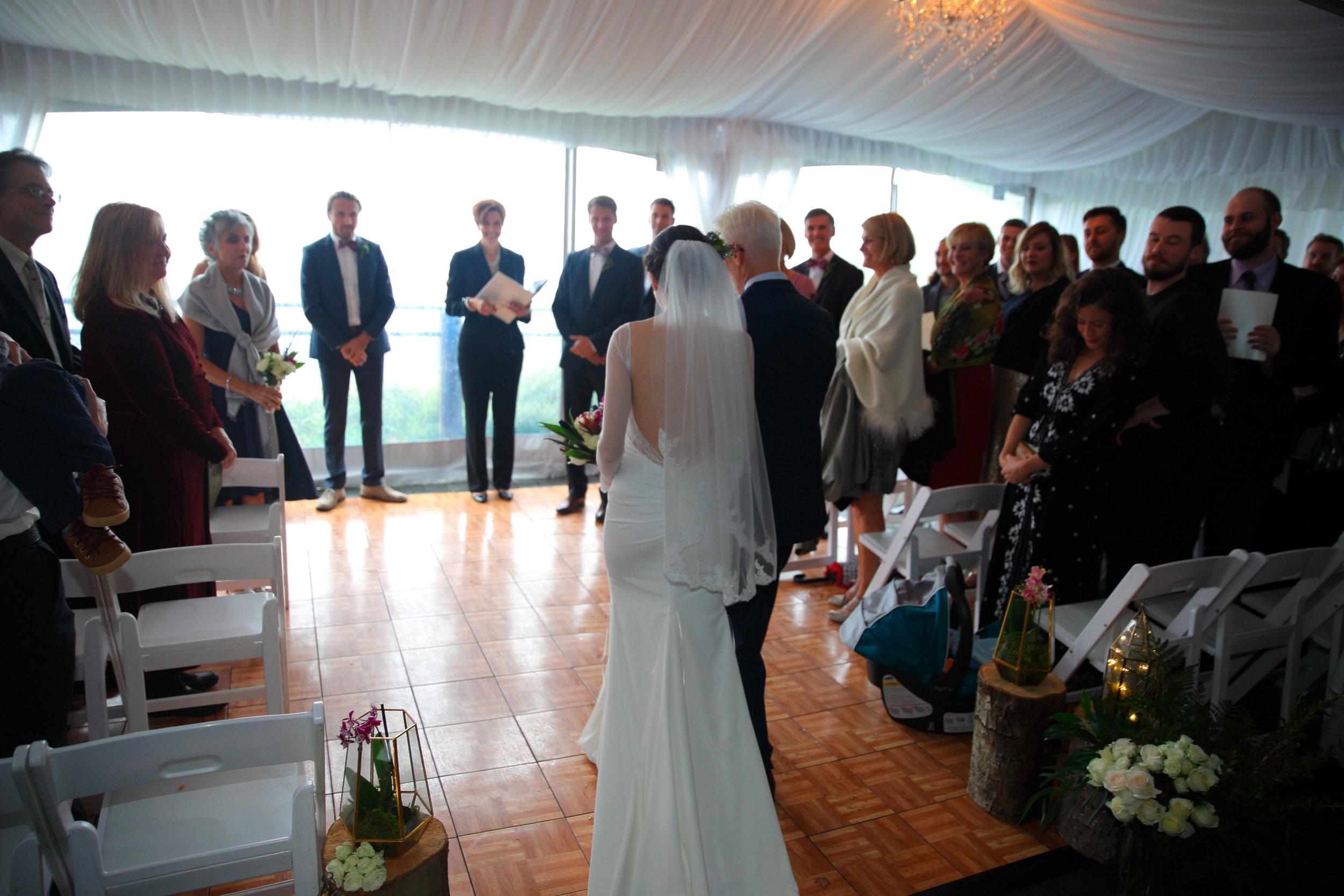 Wedding Salish Lodge