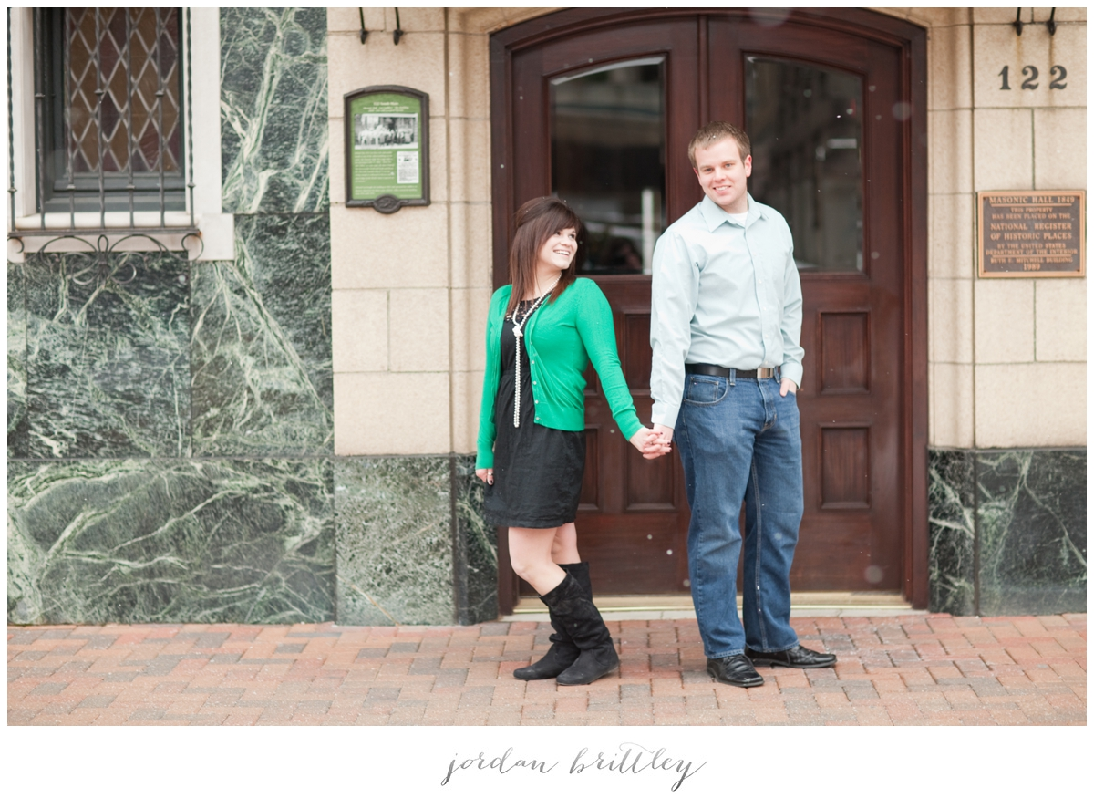 St Charles Engagement - Main Street St Charles by Jordan Brittley_013