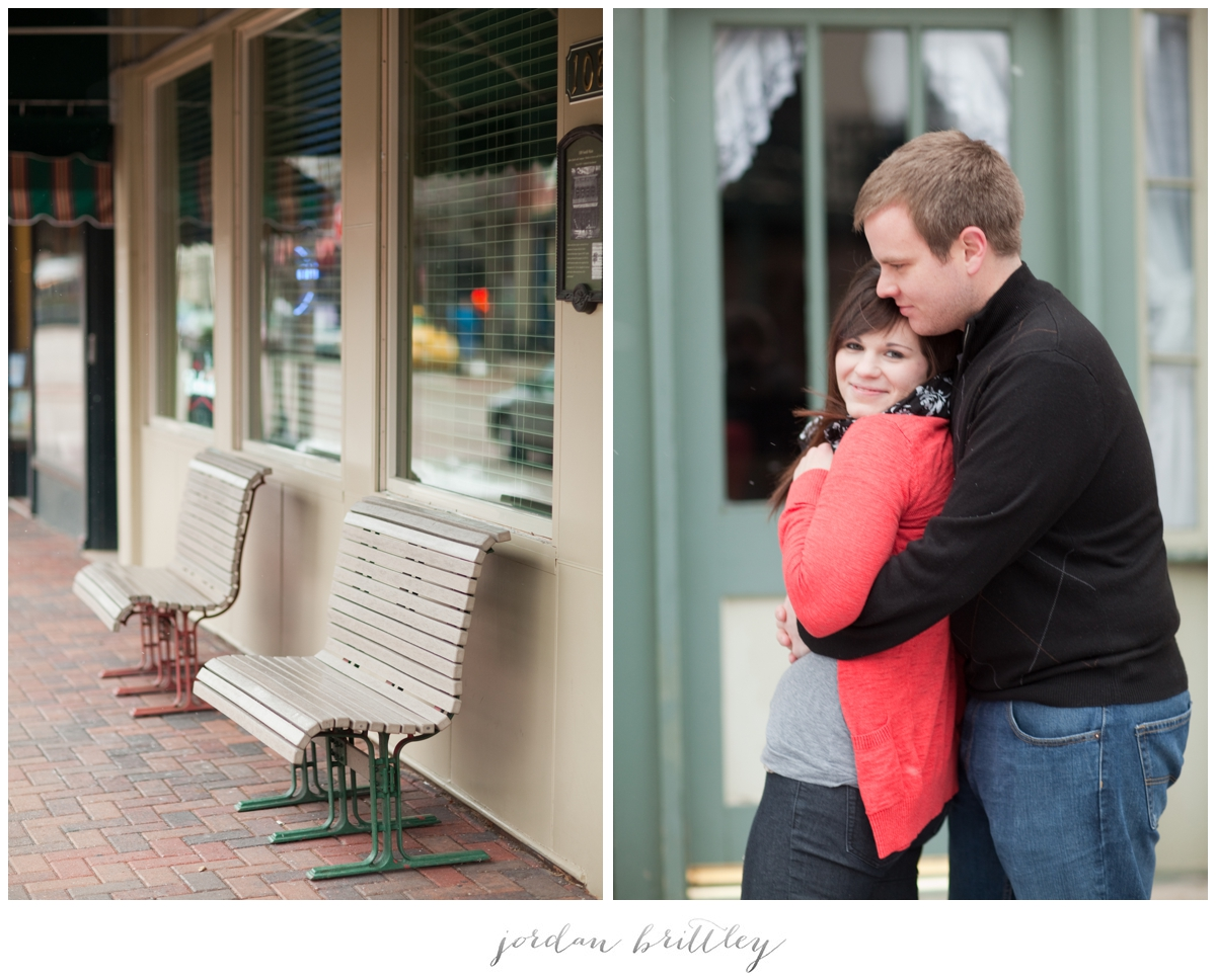 St Charles Engagement - Main Street St Charles by Jordan Brittley_019