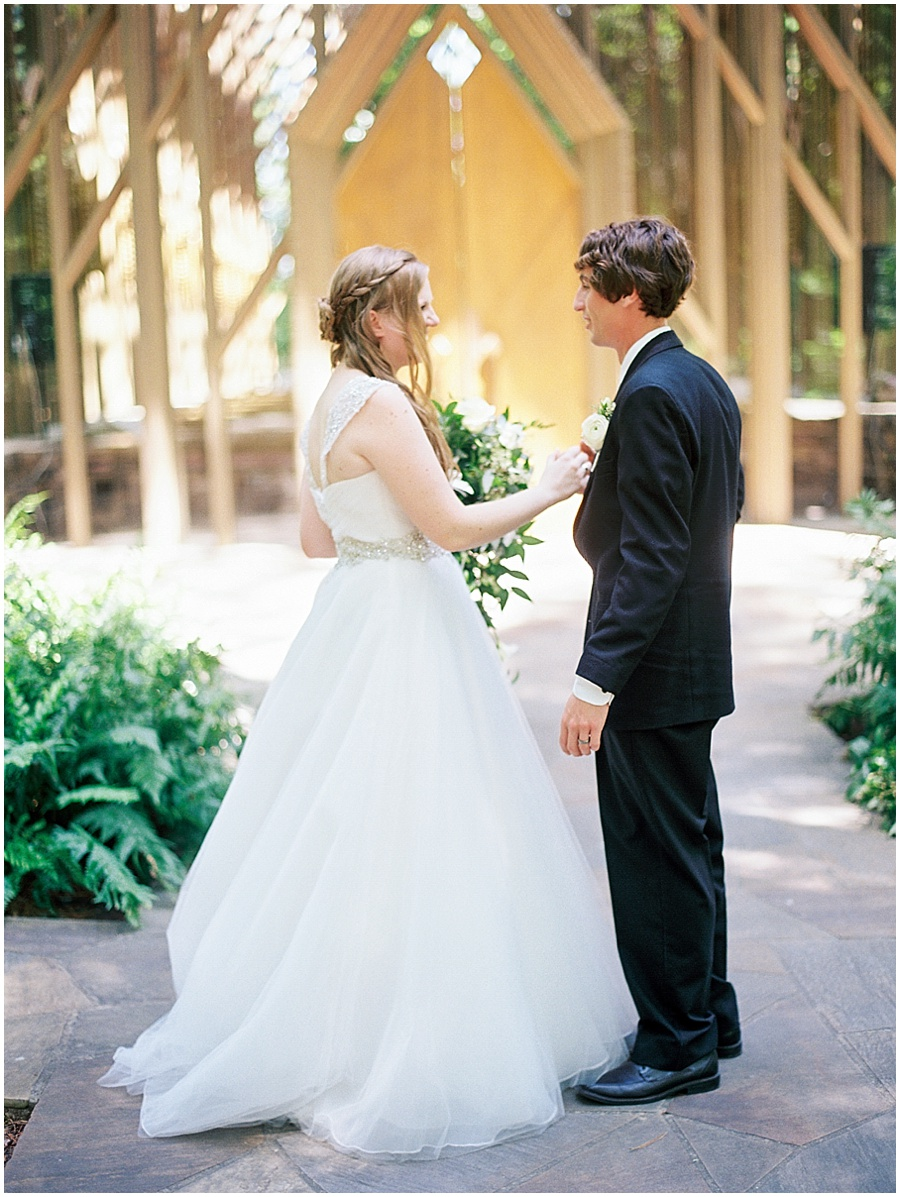 Romantic Wedding Photography in Little Rock