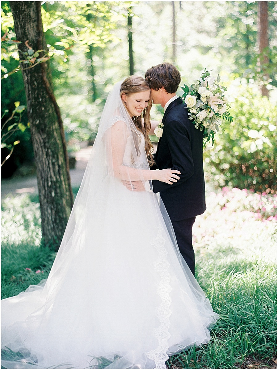 Bryant, AR Fine Art Film Wedding