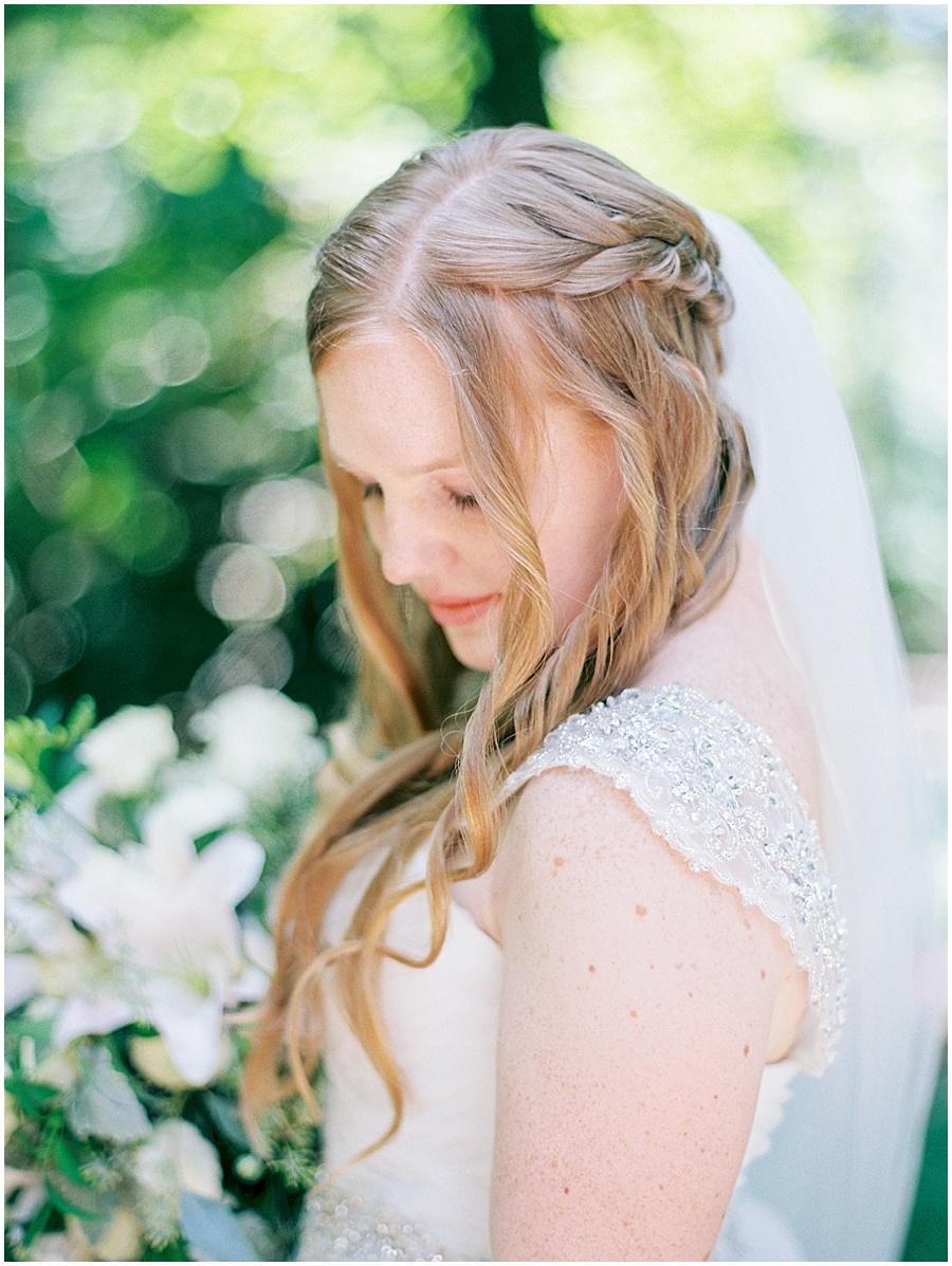 Film Wedding Photography at Garvan Gardens