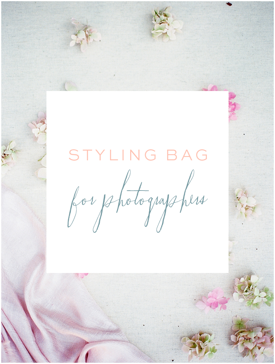 Jordan Brittley's Styling Bag - How to Photograph Bridal Details