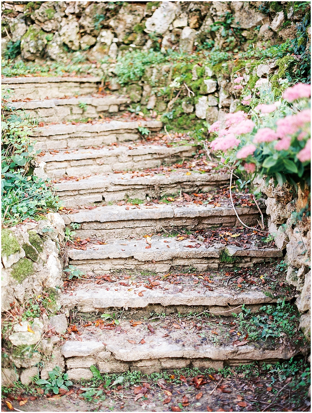 Stone stairs in St Louis - Kuhs Estate & Farm