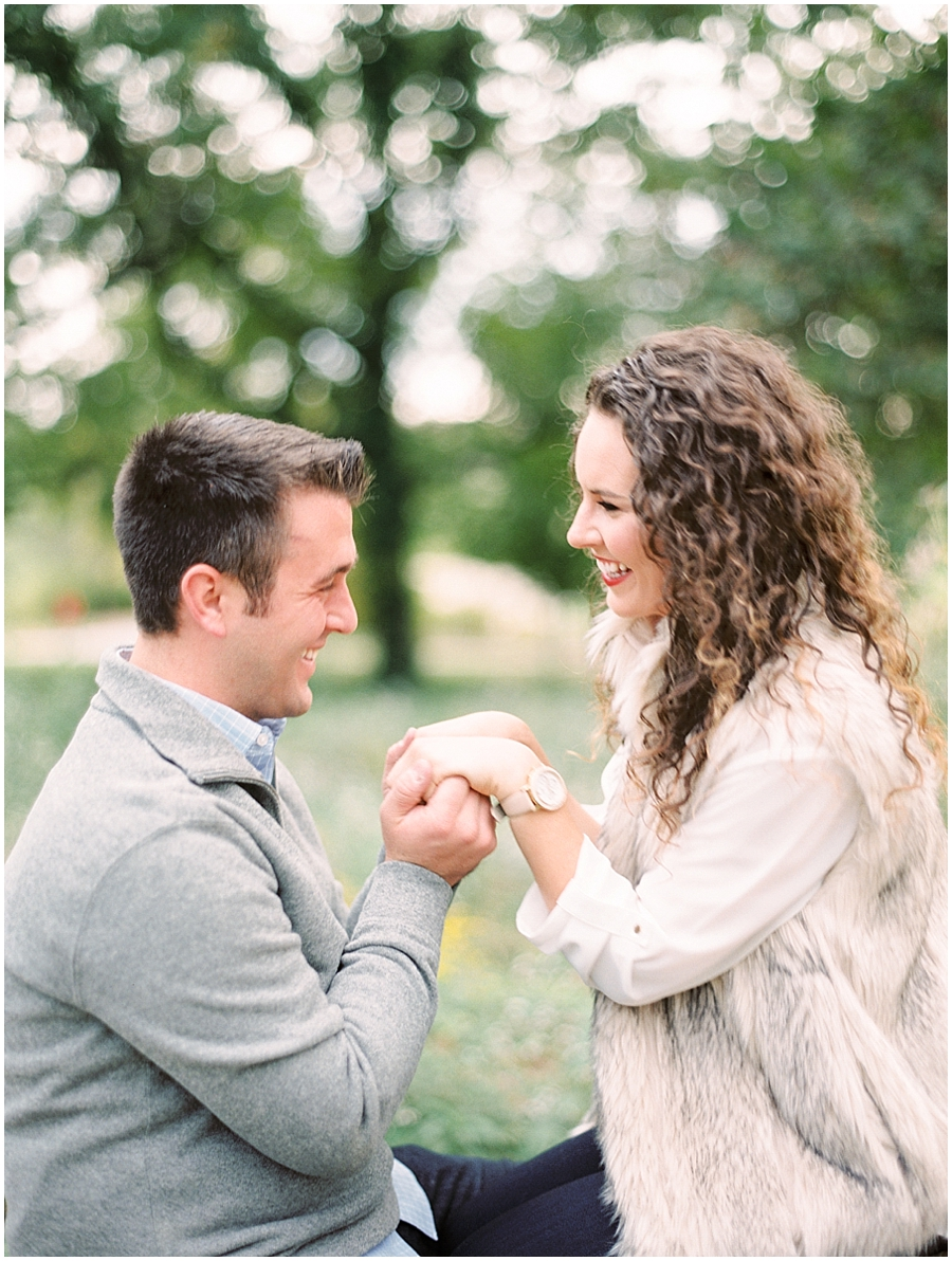 How sweet is this moment during their anniversary session!? #goals