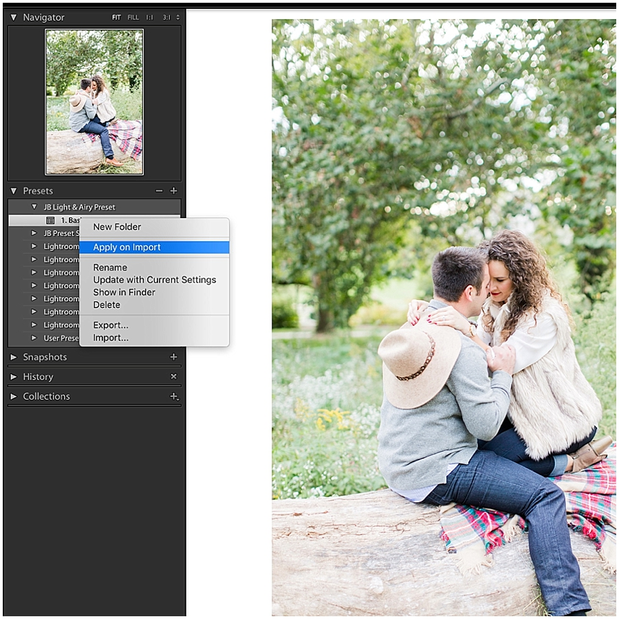 How to Install the Free Light & Airy Preset from Jordan Brittley