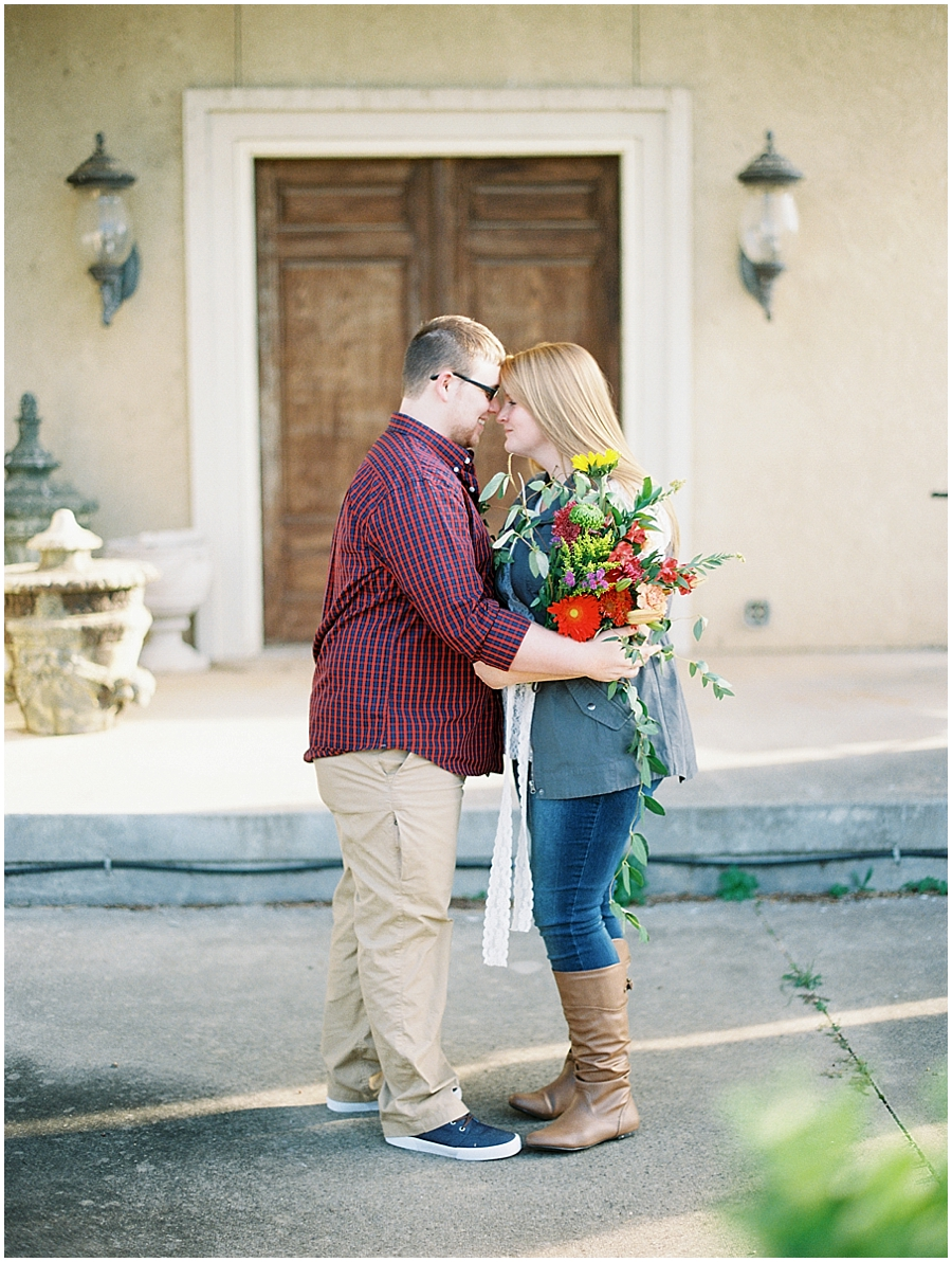 Southern Missouri Outdoor Engagement Photos | Fine Art Photography