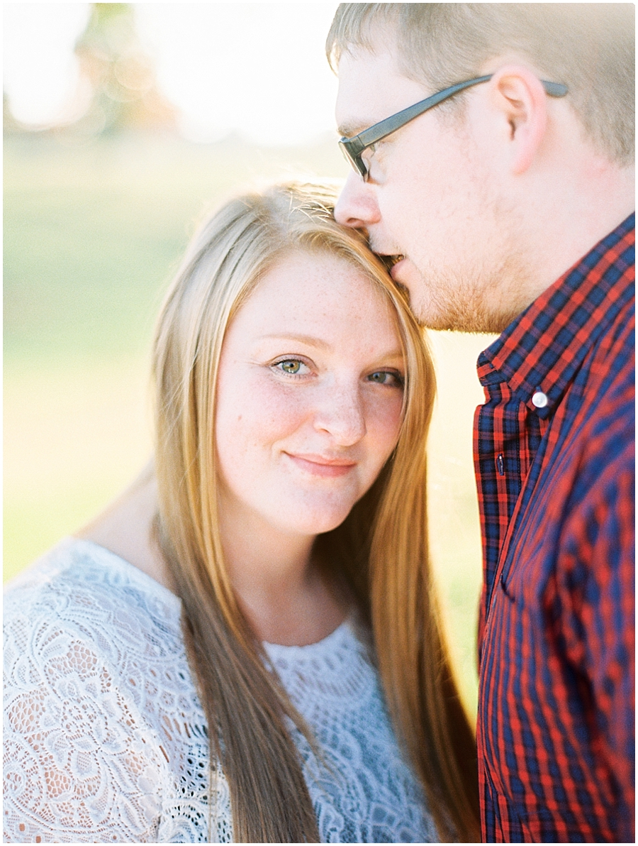 Southern Missouri Outdoor Engagement Photos | Elegant Photography