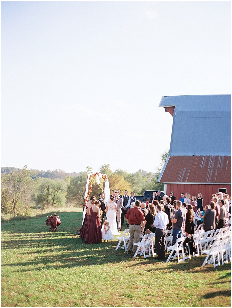 Springfield Missouri Outdoor Wedding Wedding Photos | Film Photographer