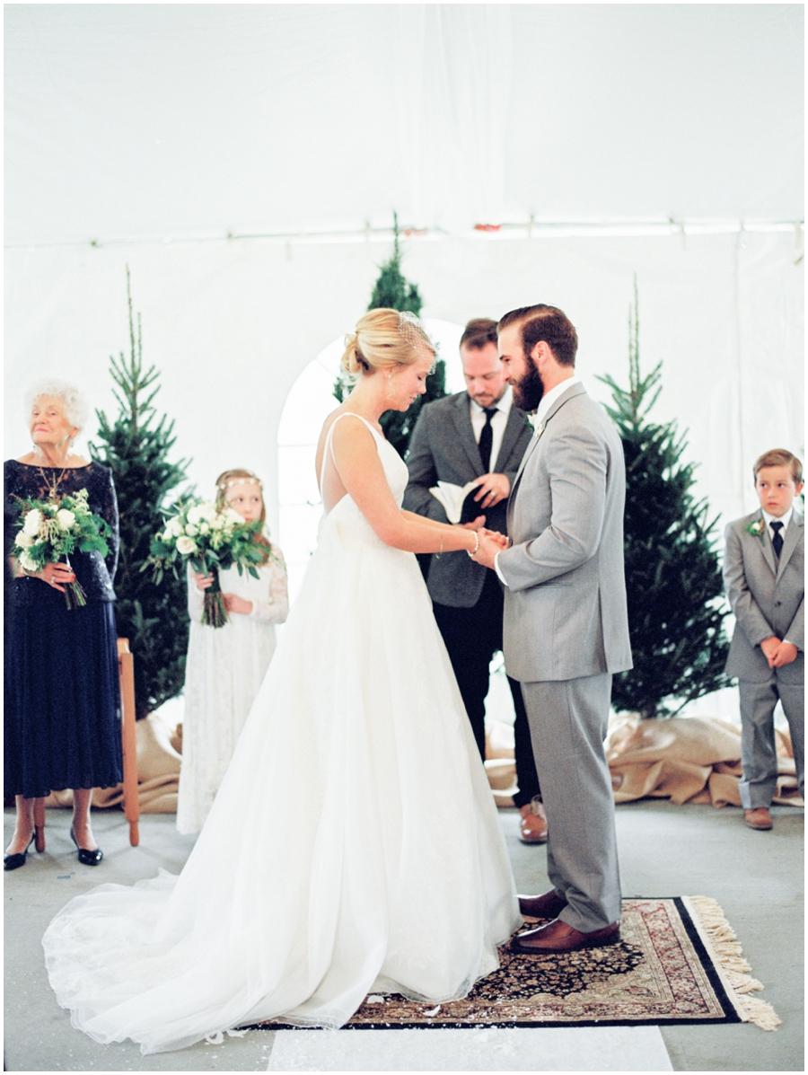 St. Louis Missouri Garden Wedding Photos   Film Photography
