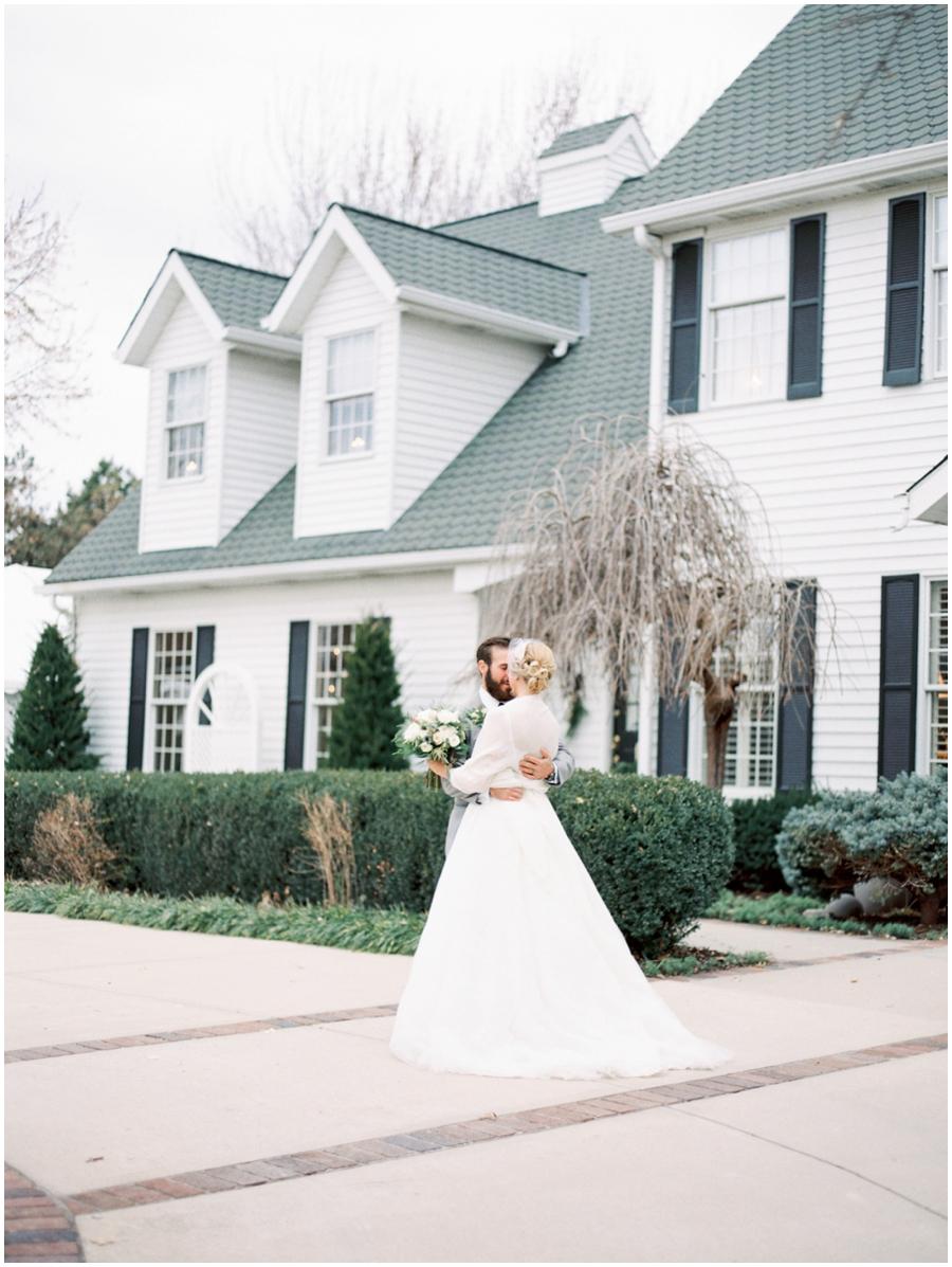 Southern Missouri Garden Wedding Photos   Film Photography