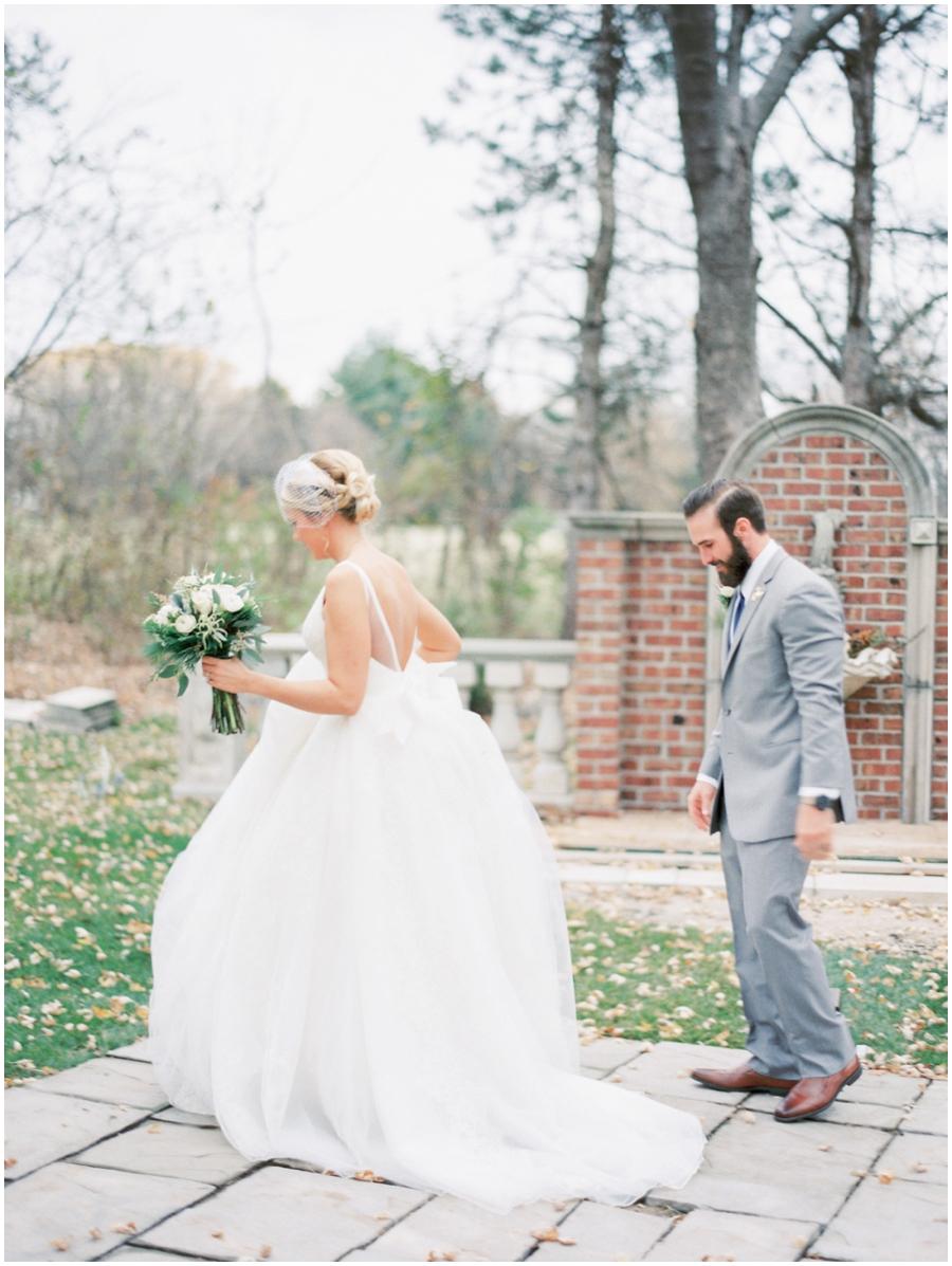 Kansas City Missouri Garden Wedding Photos   Romantic Photographer