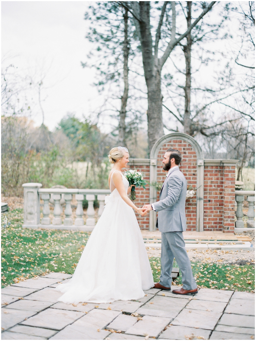 Kansas City Missouri Garden Wedding Photos   Film Photographer