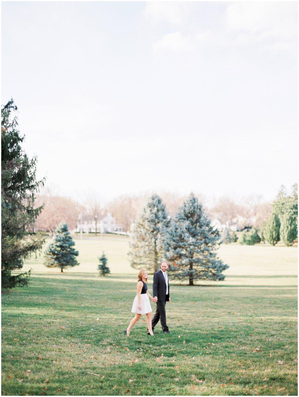 Kansas City Missouri Outdoor Engagement Photos | Garden Photographer