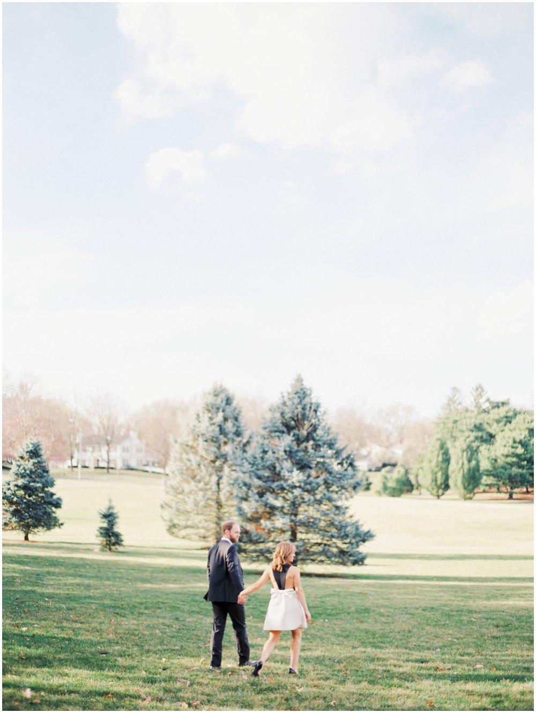 Kansas City Missouri Outdoor Engagement Photos | Fine Art Photographer