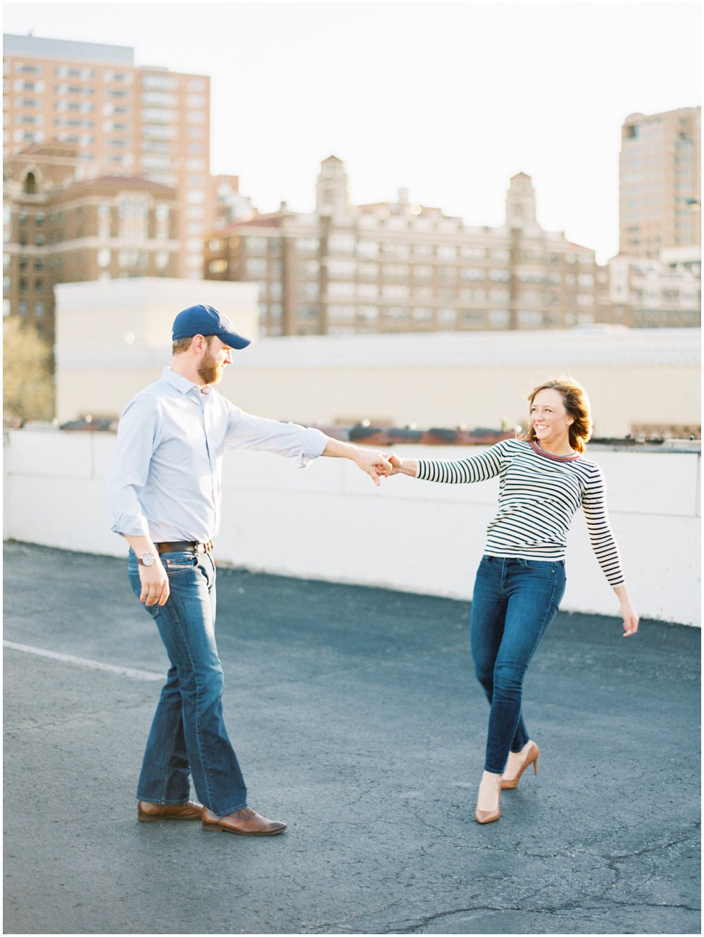 Southern Missouri Outdoor Engagement Photos | Light & Airy Photography