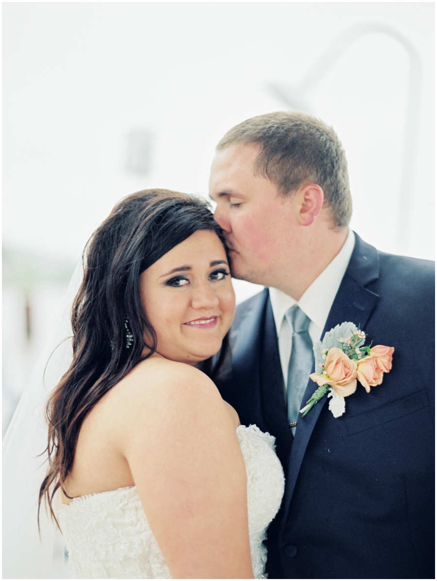 Illinois Garden Wedding Photos   Film Photography
