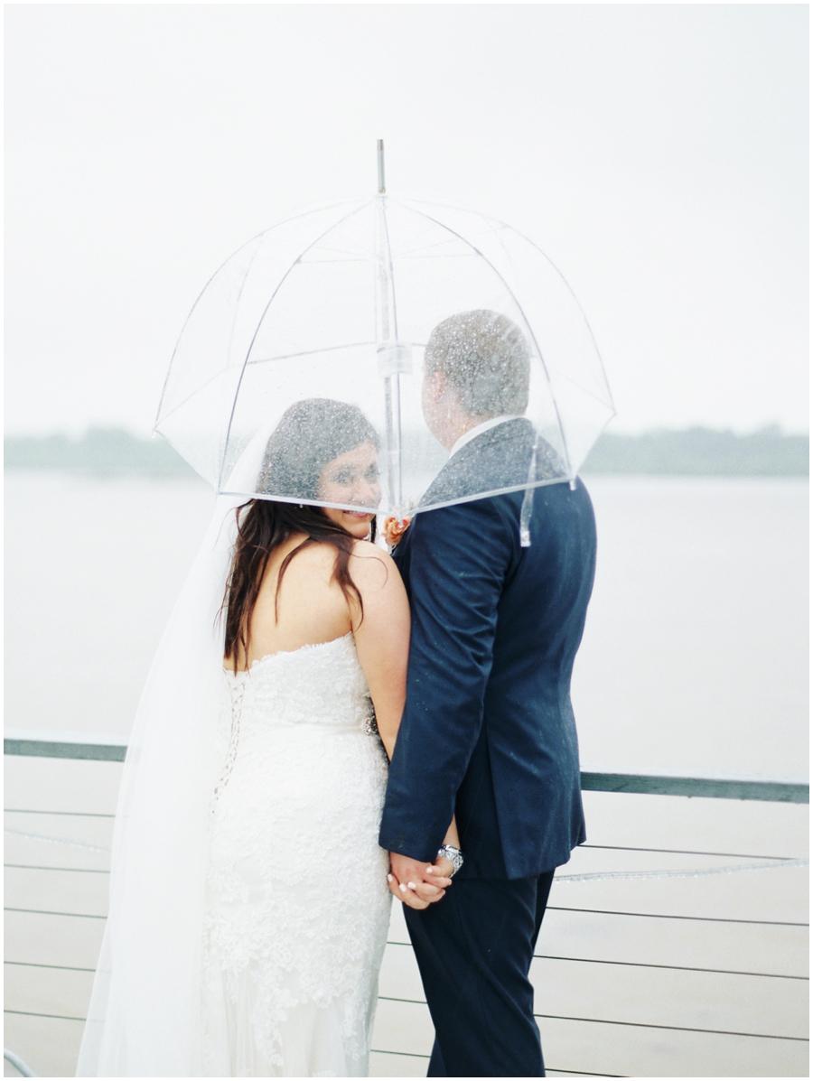 Illinois Rainy Day Wedding Photos   Film Photographer