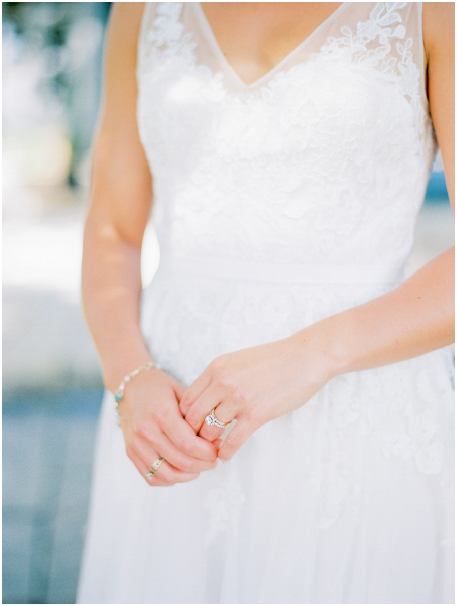 St. Louis Missouri Garden Wedding Photos | Film Photography