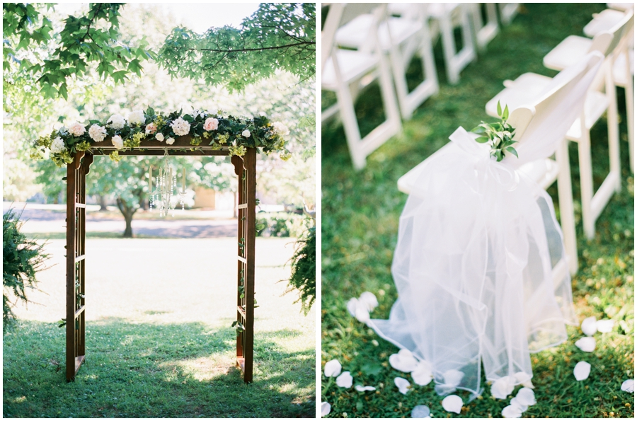 Springfield Missouri Garden Wedding Photos | Film Photographer