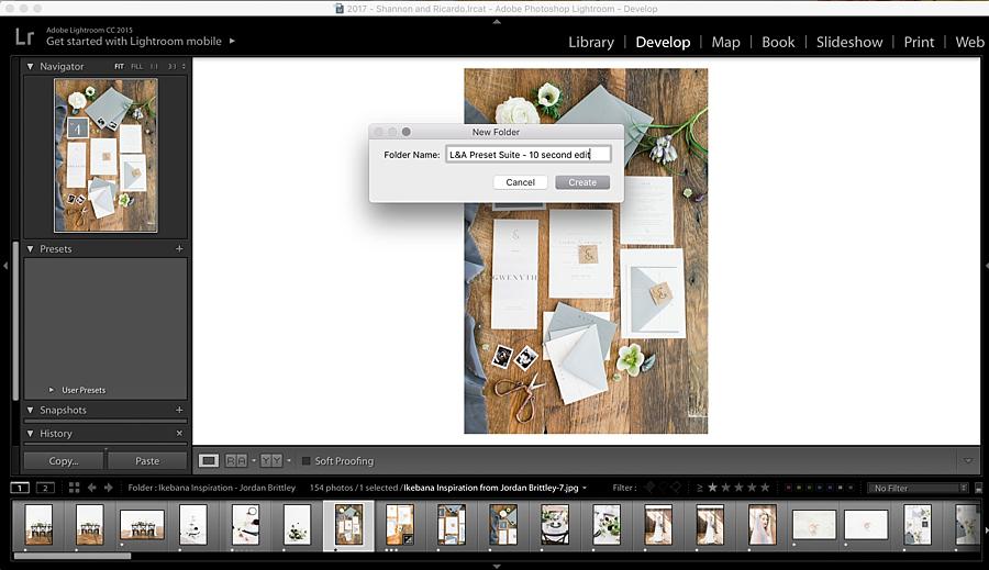 Lightroom presets - how to import presets tutorial