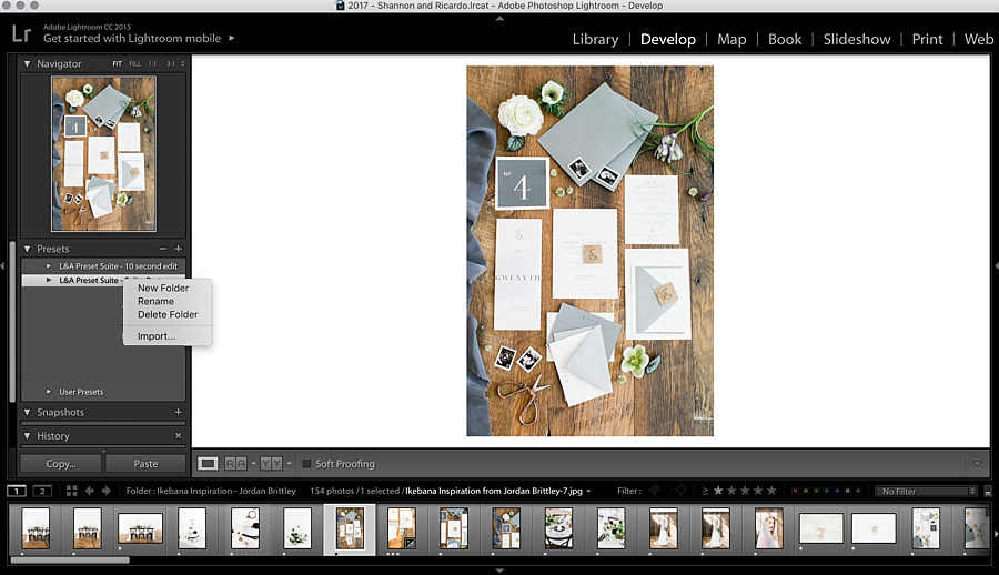 How to import presets into Lightroom - Light and airy photog