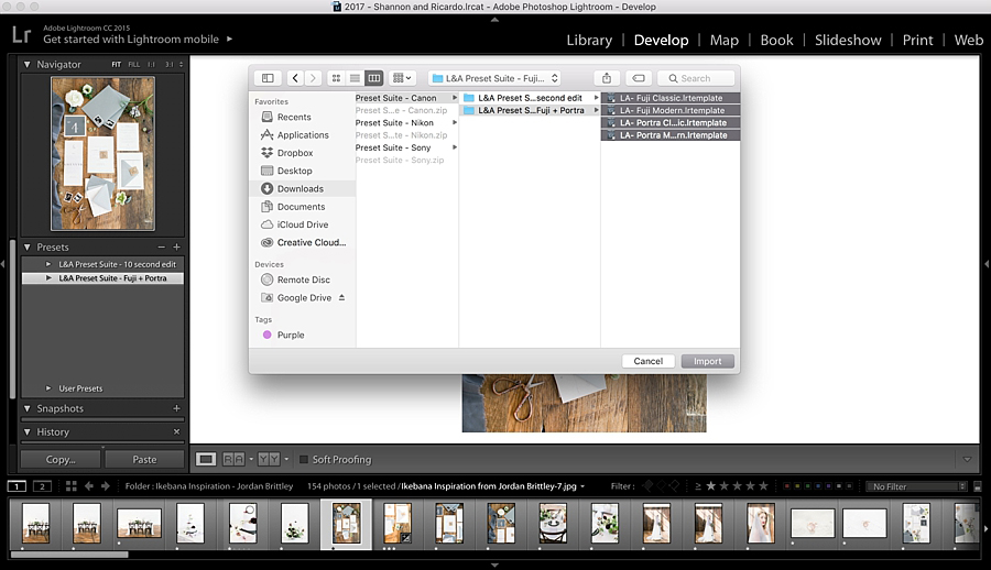 How to import Light and Airy presets into Lightroom without the headache