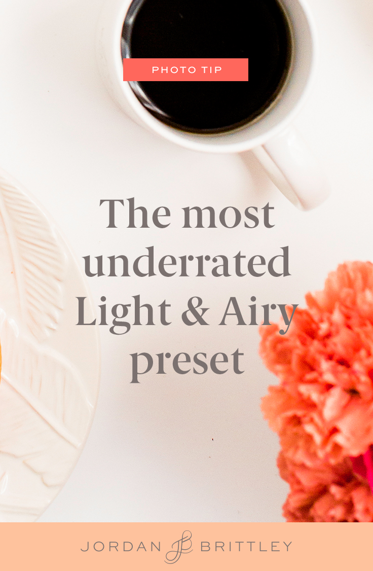 The Light & Airy preset that'll change your editing life