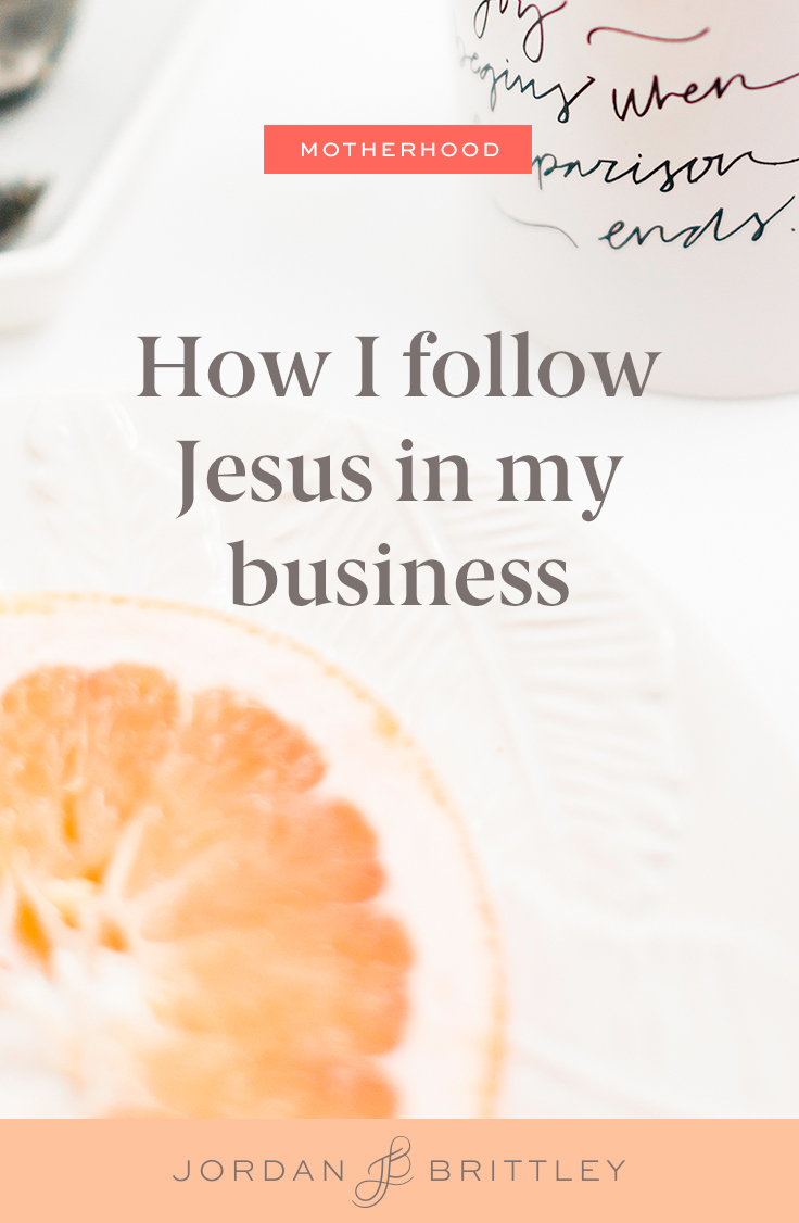 How to let the Lord run your business