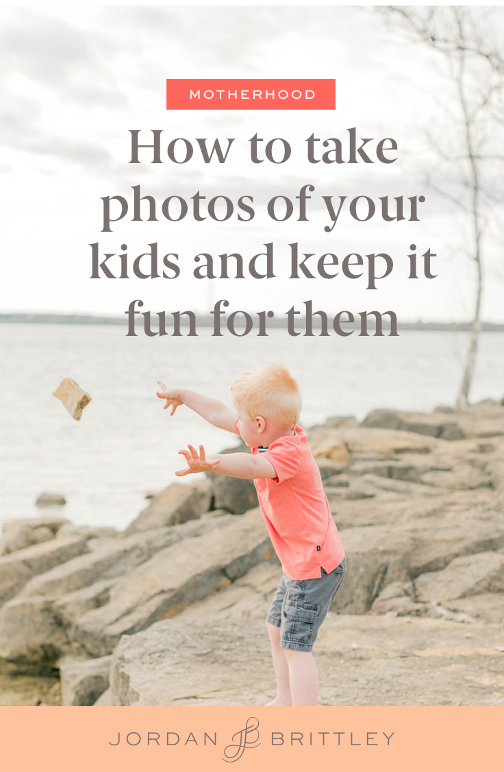 how to make photo taking fun for your kids